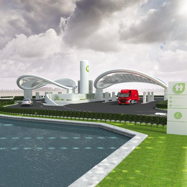 Holthausen NRG Points - schone tankstations met duurzame brandstoffen