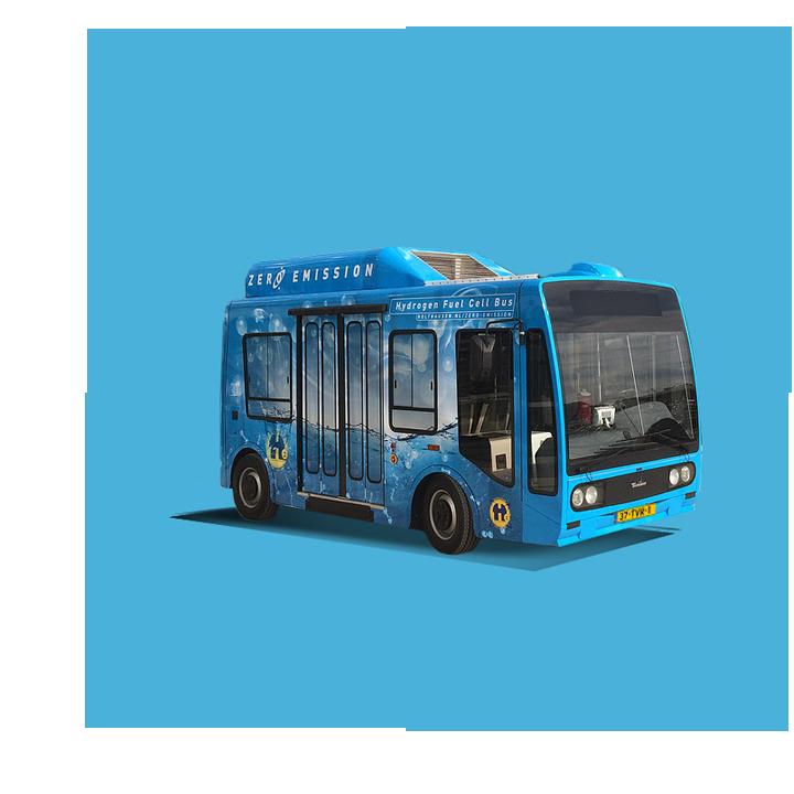 waterstof bus Holthausen